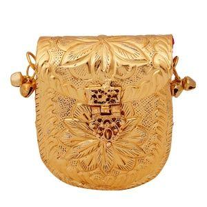 Handbags - Brass Metal Coin Purse